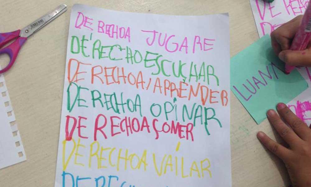 ABC Alfabetización Ciudadana: discovering a world of rights